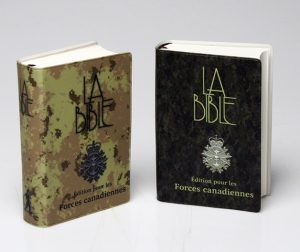 French military Bibles